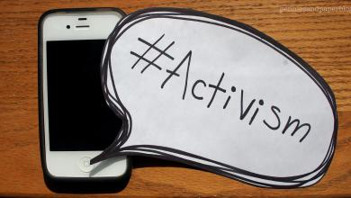 on your only onscreen activism