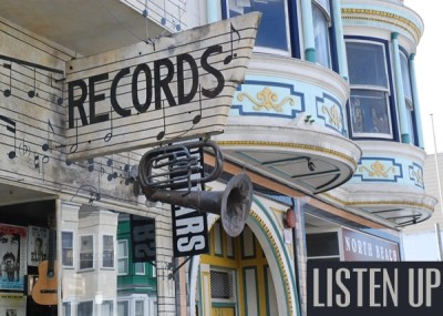 Records 101 exterior north beach san francisco california