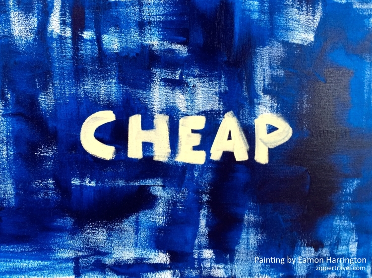 Eamon Harrington Cheap painting Malibu California
