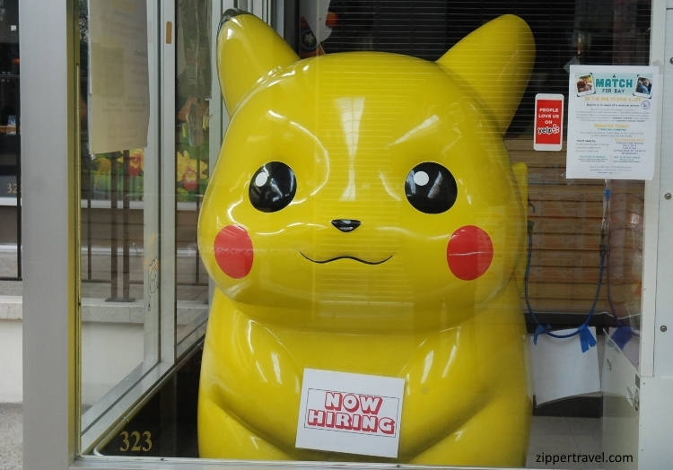 pikachu now hiring japantown san francisco