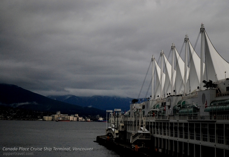Canada Place Harbour Terminal Vancouver BC