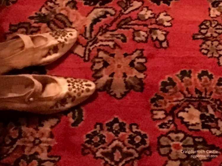 shoes-persian-carpet-craigdarroch-castle-victoria-bc