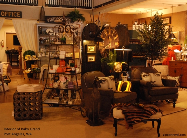 Baby Grand store interior Port Angeles Washington