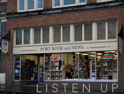Port Book and News exterior Port Angeles Washington