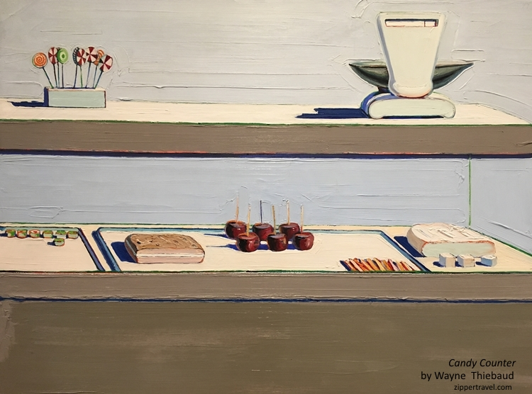 Wayne Thiebaud Candy Counter Stanford University