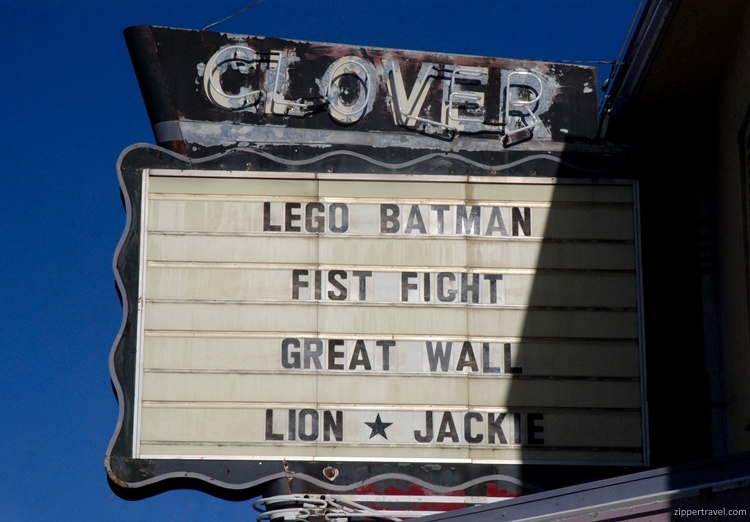 Clover Theater Cloverdale California