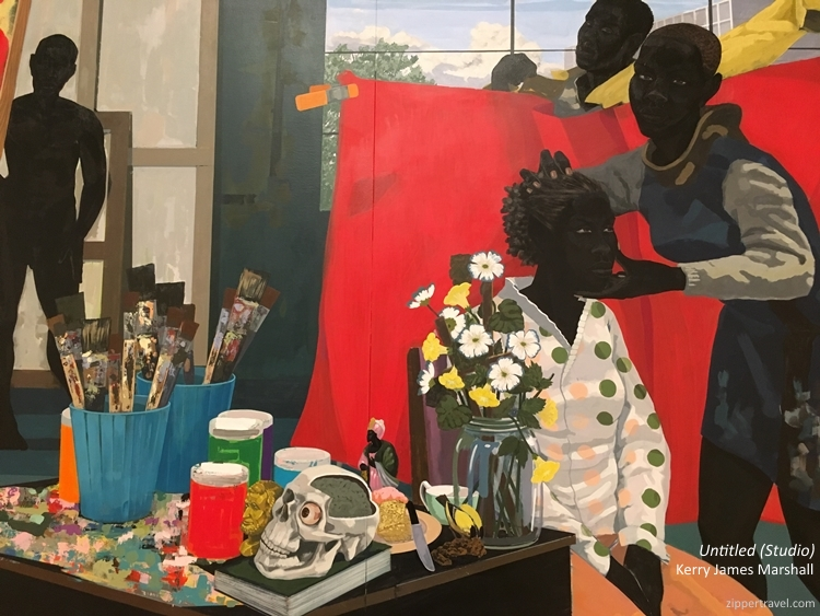 Untitled Studio Kerry James Marshall MOCA Los Angeles