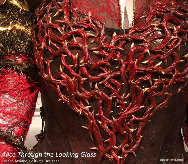 Alice Through the Looking Glass 2 costumes designer Colleen Atwood
