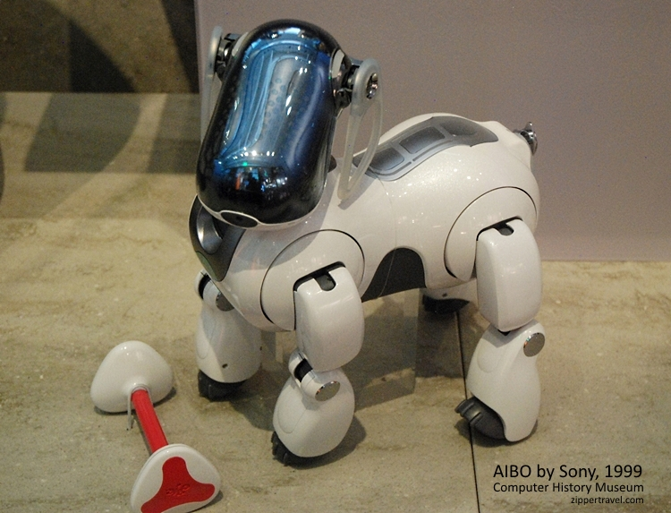 AIBO Sony 1999 Computer History Museum Mountain View CA
