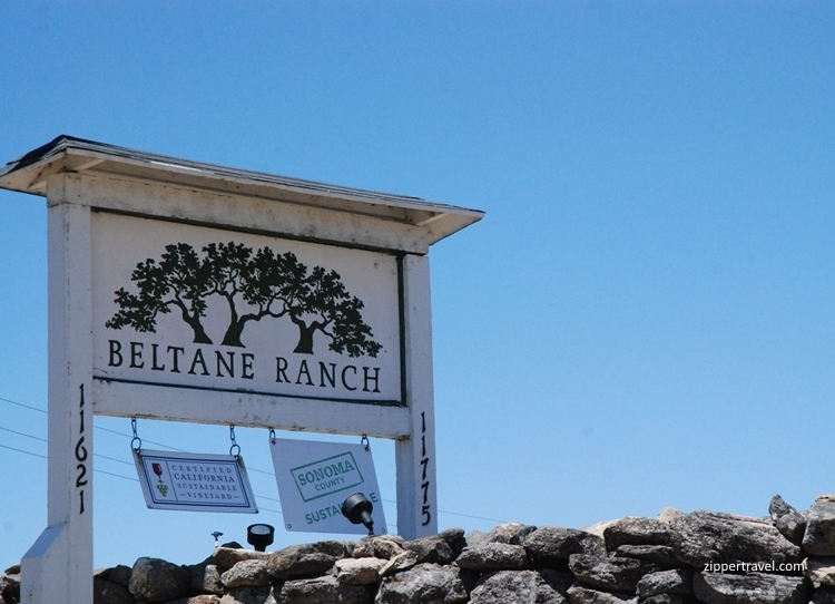 Beltane Ranch signage Valley of the Moon Sonoma CA