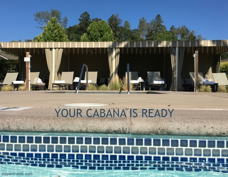 Cabanas Solage Pool Party Calistoga CA
