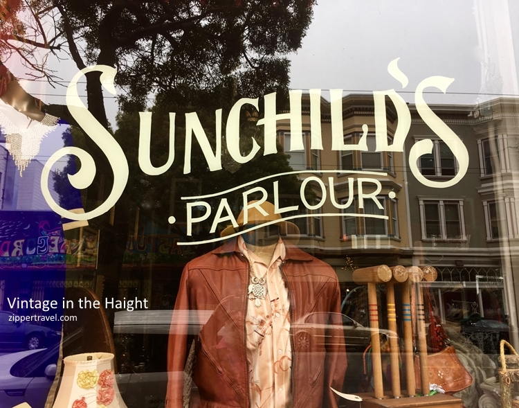 Sunchild's Parlour vintage clothing Haight Ashbury summer of love revisited