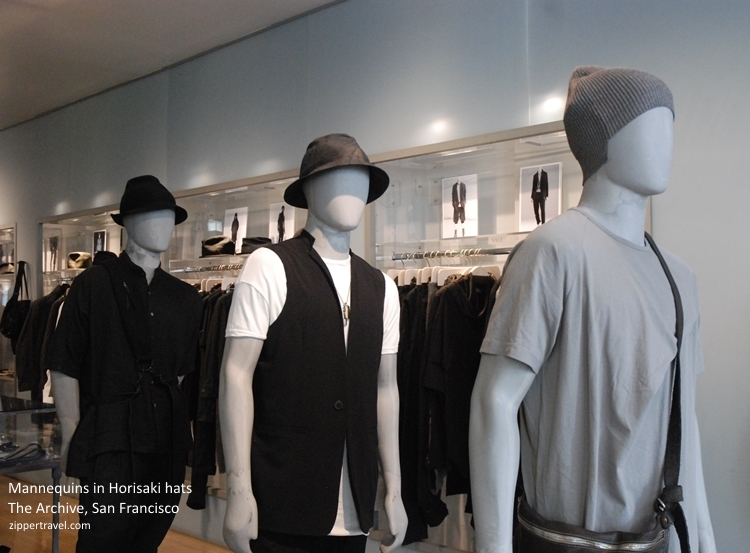 Archive mannequins hats San Francisco