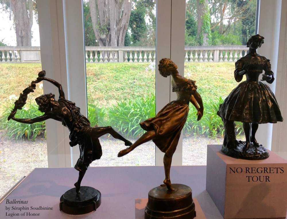 Ballerina sculptures Seraphin Soudbinine Legion Honor