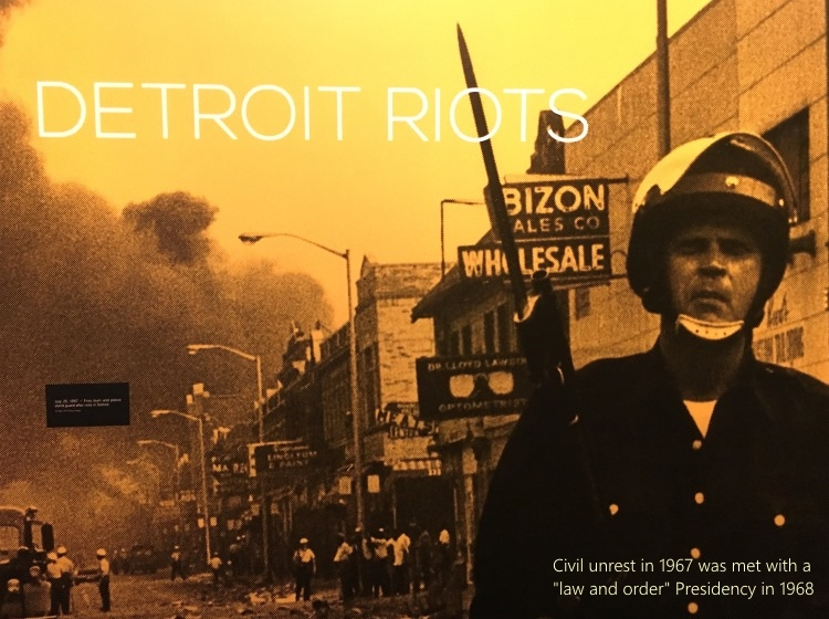Detroit Riots 1967 photo Nixon Library