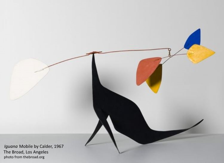 Calder Iguana 1967 at the Broad