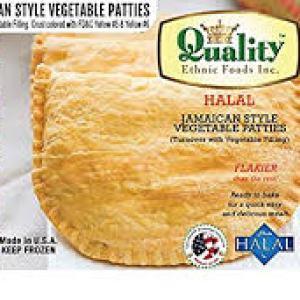 Jamaican Style Vegetable Patties (50 Pieces)