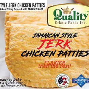 Jamaican Style Jerk Chicken Patties (50 Pieces)