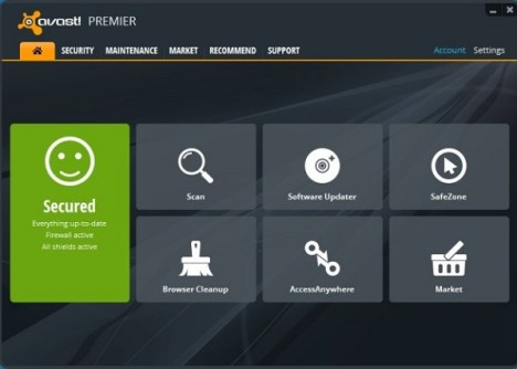 Avast Premier License 2018 Key