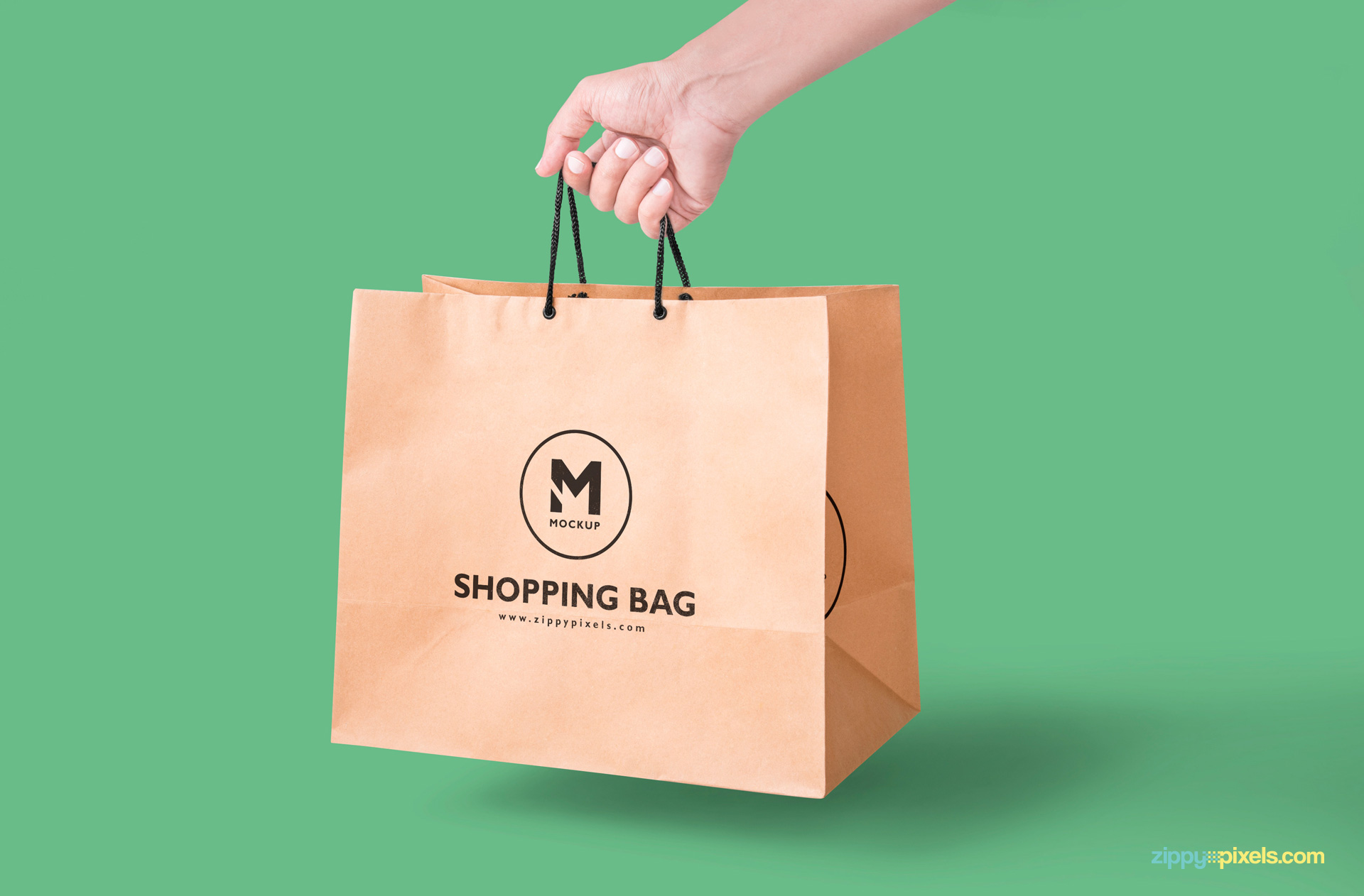 free for personal and commercial use. Paper Bag Mockup Free Psd Download Zippypixels