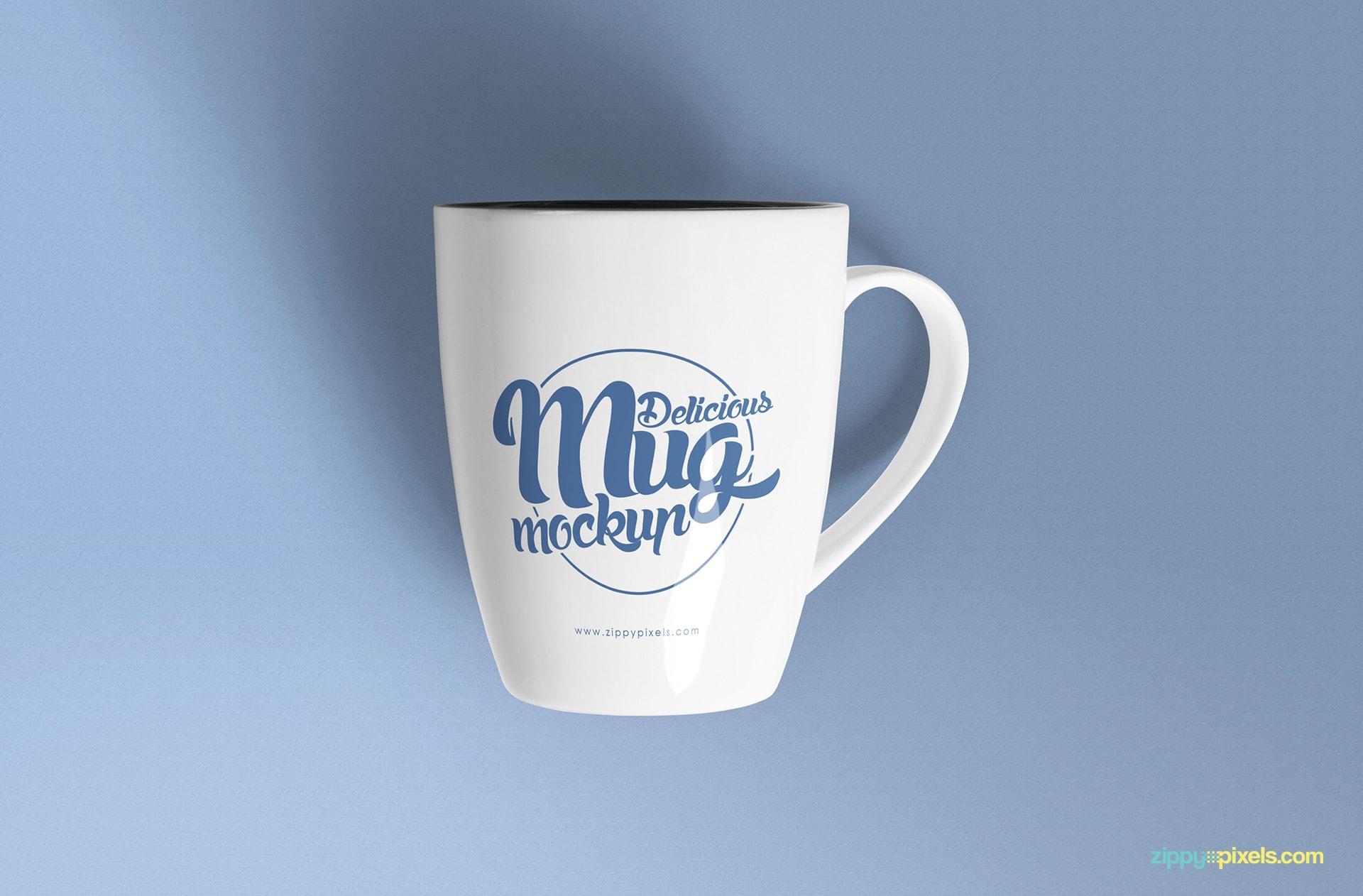 Espacio de trabajo en hora de almuerzo. Free Coffee Mug Mockup Psd S Zippypixels