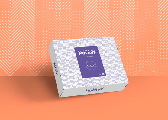 Download Free Gorgeous Box Packaging Mockup | ZippyPixels