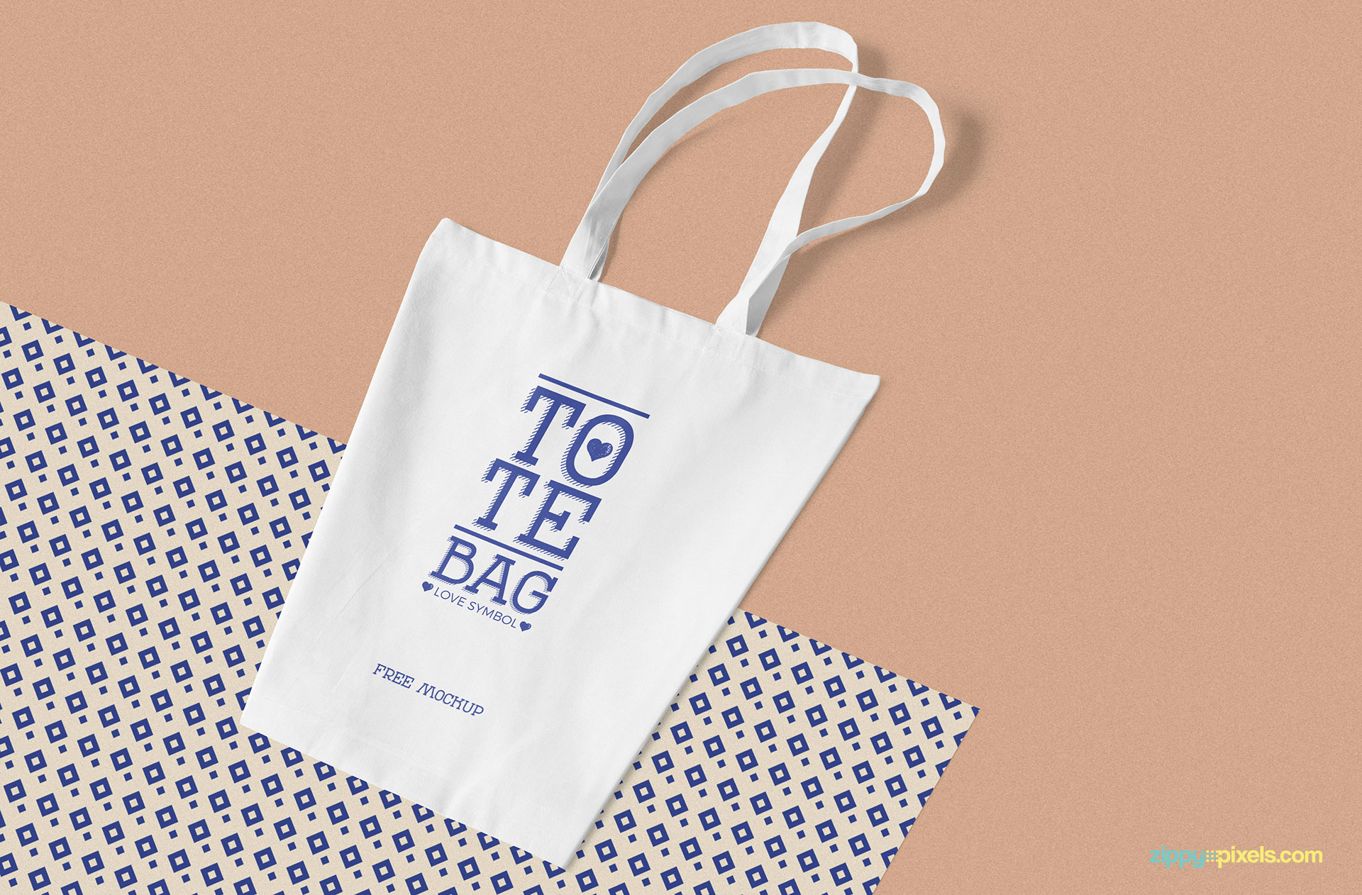 Printable gift paper bag template free pdf format. Free Professional Cotton Bag Mockup Zippypixels