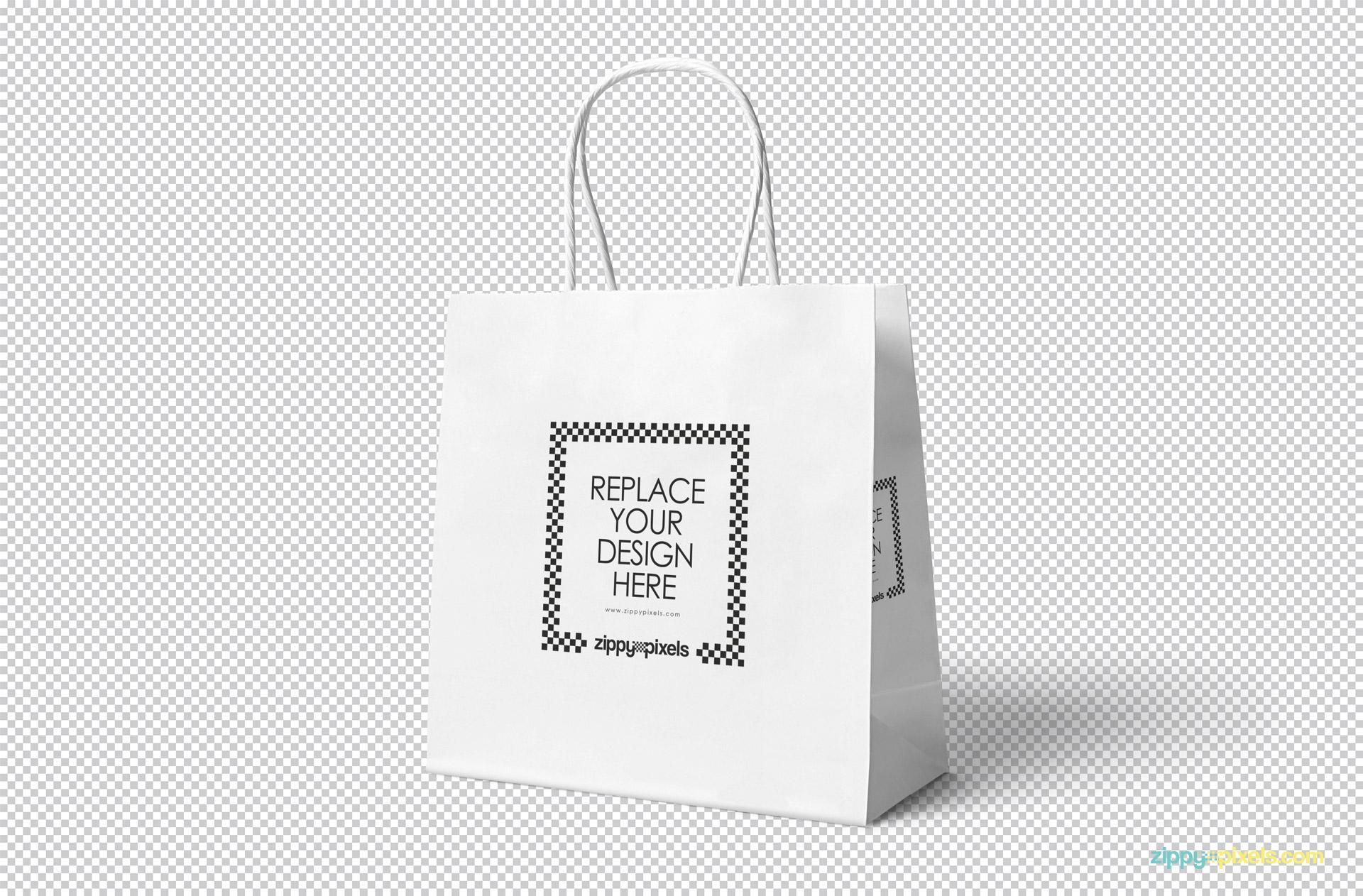15+ brilliant gift bag mockup psd templates. Free Attractive Gift Bag Mockup Zippypixels