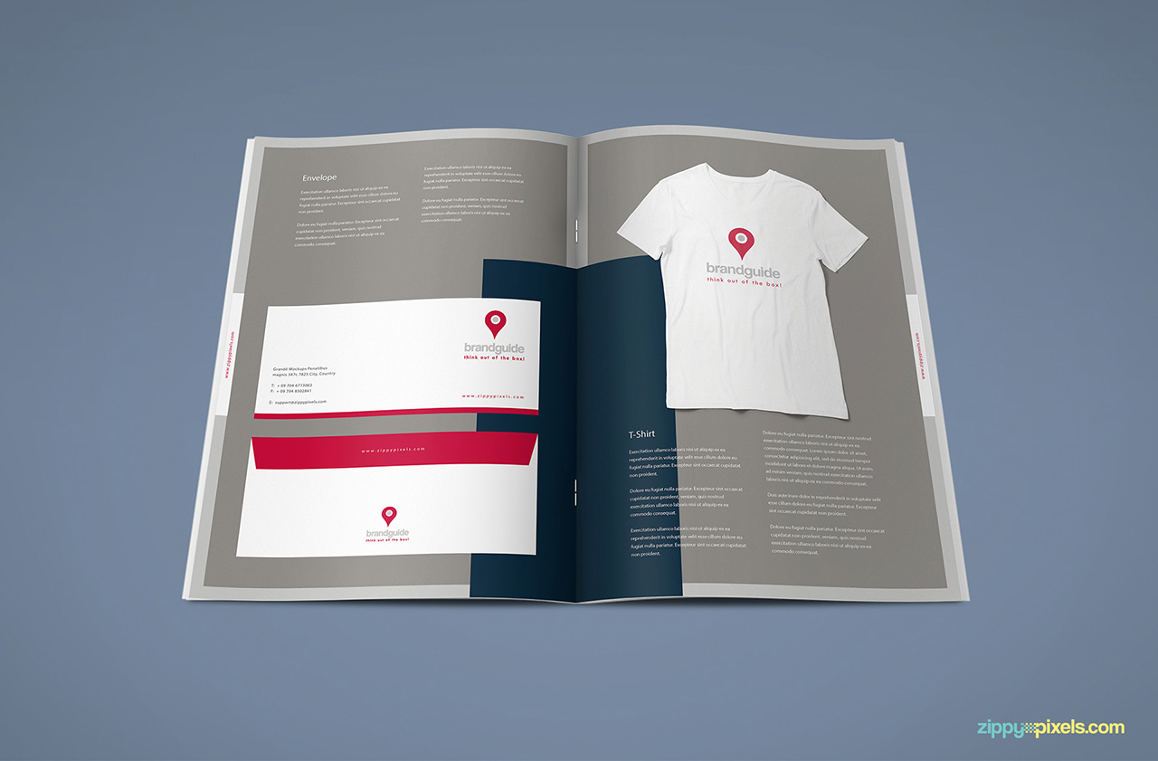 The Harmony Free Brand Book Template ZippyPixels