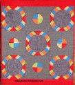 Metrol Hoops baby quilt