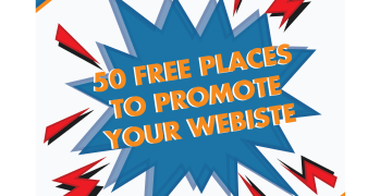 50 Free Places to Promote Your Website