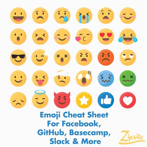 emoji cheat sheet
