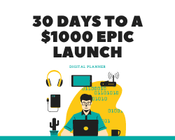 30 days to a $1000 Epic Launch