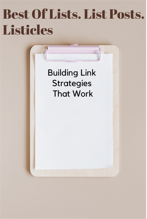 building link strategies that work |  SEO | SEO