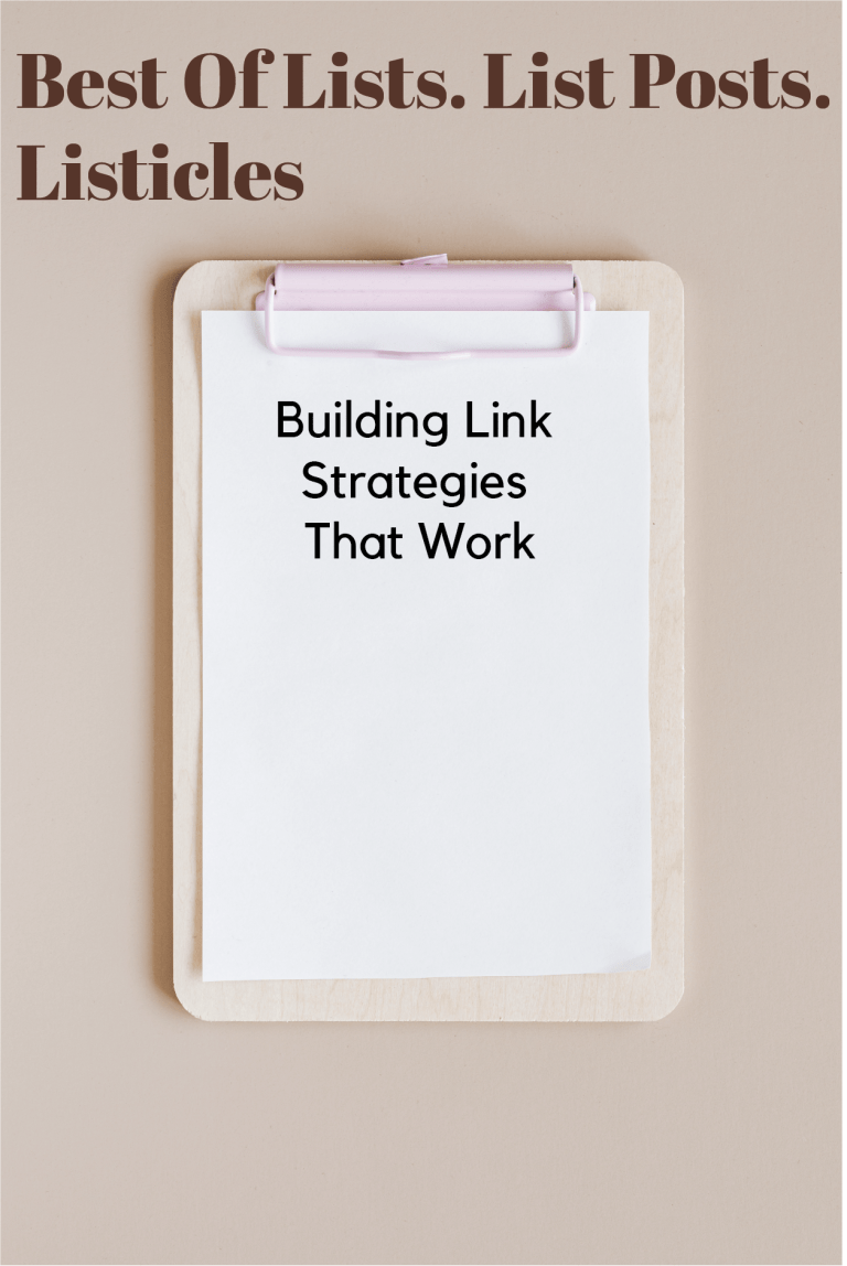 building link strategies that work |
