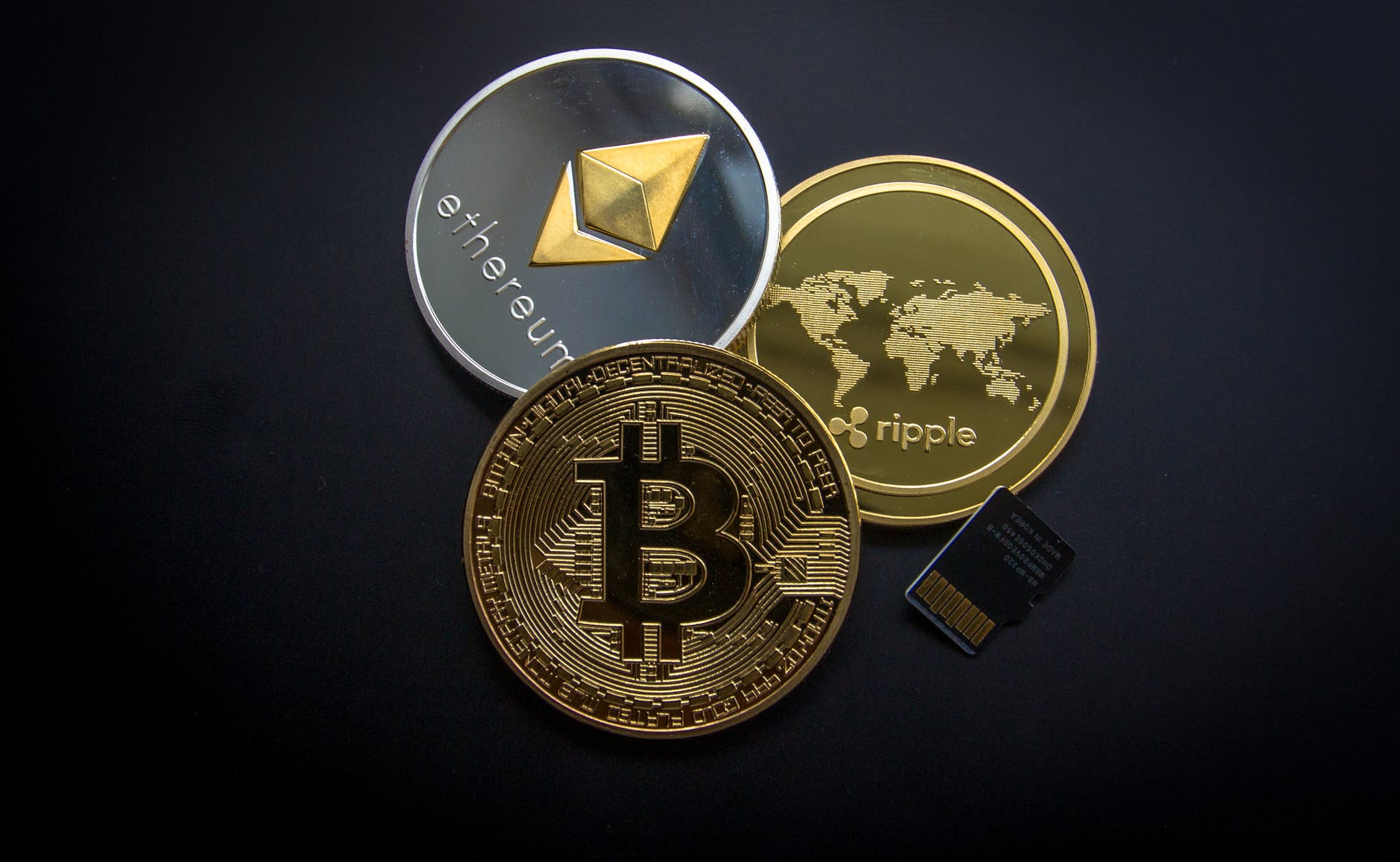 ripple etehereum and bitcoin and micro sdhc card  - pexels photo 844124 - Cryptocurrency and it's Secrets Untold
