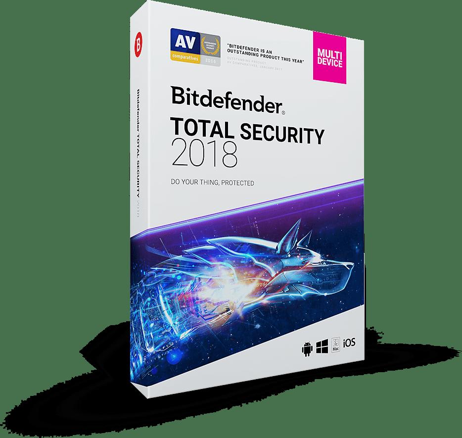 BitDefender Total Security 2017-2018 Full Version Free Download