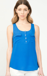 Le Chateau Colorful tank top
