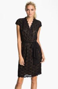 Alex Evenings Lace Wedding Guest Dress