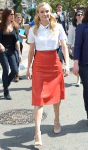 Diane Kruger crop top professional