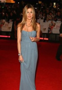 jennifer aniston form fitting dress