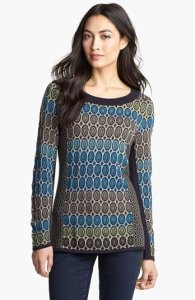 Nic and Joe Geo Jacquard Sweater NAS