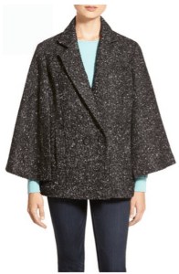 nordstrom halogen grey cape
