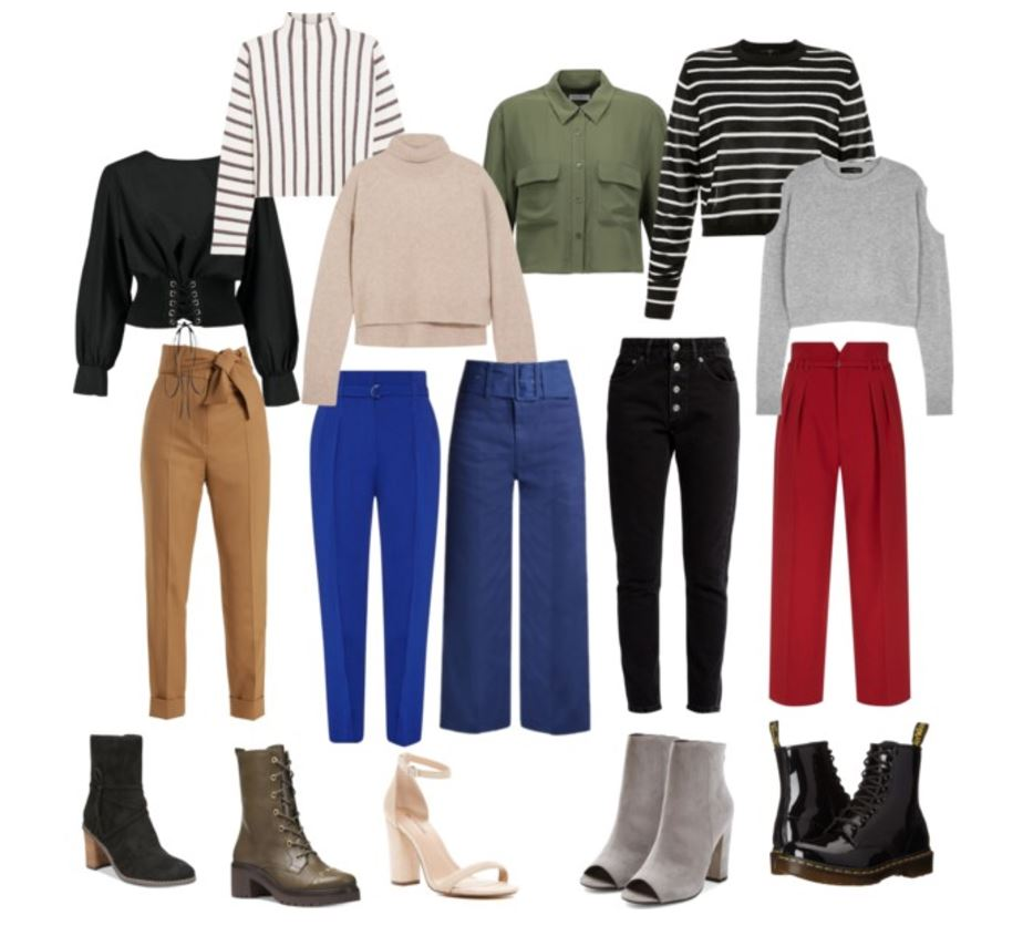 Capsule wardrobe for high waisted pants seattle personal styling