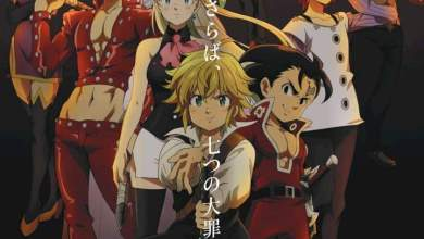 [Movie] The Seven Deadly Sins the Movie: Cursed by Light (2021) [Japanese]