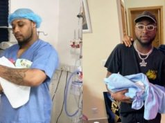 Davido B-Red new born baby
