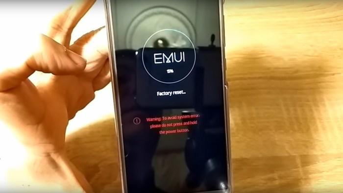 Сброс смартфона до заводских настроек