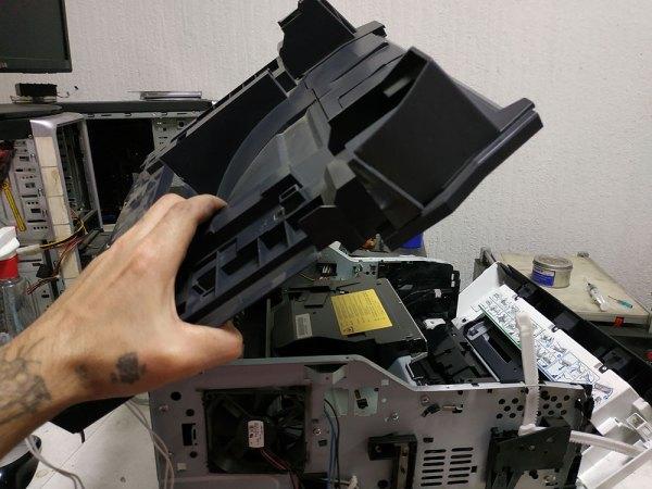 Застревает бумага в Kyocera - фото №32