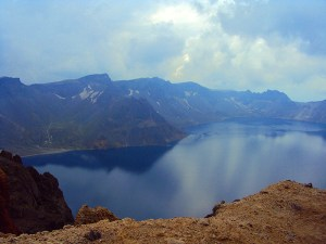 Changbai Shan in Northern China