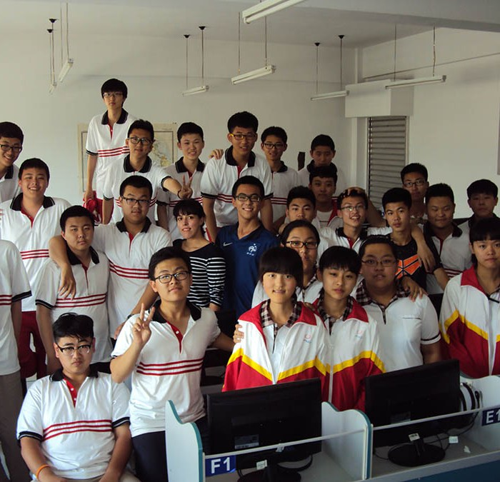 My ESL students in Changchun